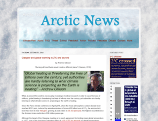 arctic-news.blogspot.com screenshot