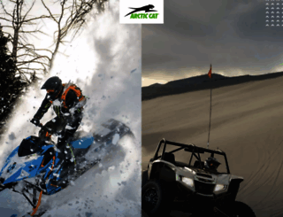 arcticcat.com screenshot