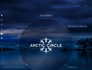 arcticcircle.org screenshot