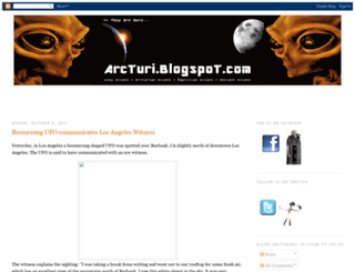 arcturi.blogspot.com screenshot