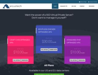 arcustech.com screenshot