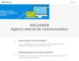 arcusweb.com screenshot