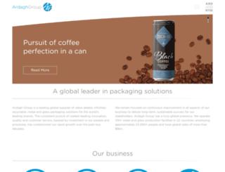 ardaghglass.com screenshot
