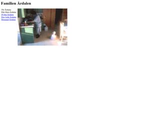ardalen.com screenshot