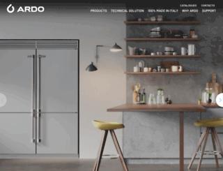 ardo.ru screenshot