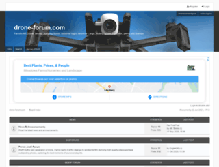 ardrone-flyers.com screenshot