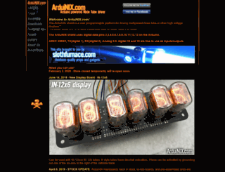 arduinix.com screenshot