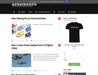 arduinoarts.com screenshot