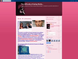 arduoesseregiulia.blogspot.com screenshot