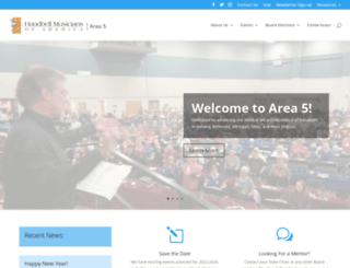 area5.handbellmusicians.org screenshot