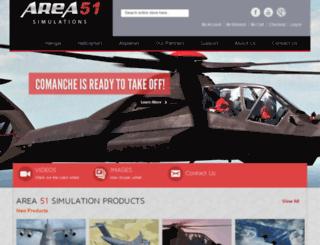 area51sim.com screenshot