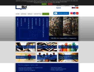 areab2b.centrolibri.it screenshot