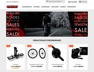 areabici.es screenshot