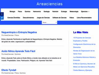 areaciencias.com screenshot