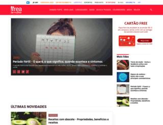 areademulher.com screenshot