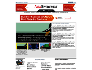 areadevelopment.com screenshot