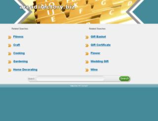 areadirectory.biz screenshot