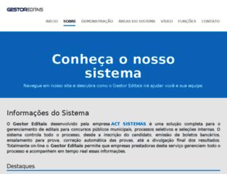 areadocandidato.com.br screenshot