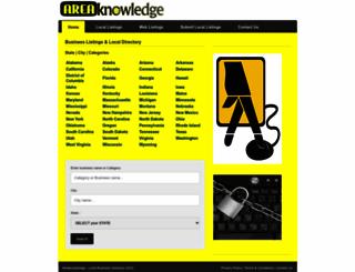 areaknowledge.com screenshot