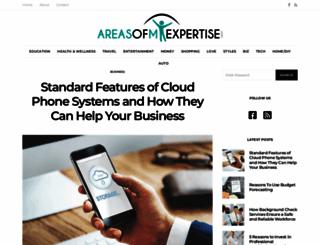 areasofmyexpertise.com screenshot