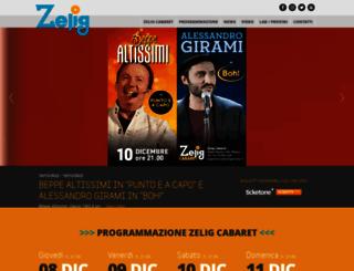areazelig.it screenshot