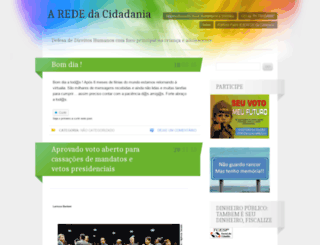 arededacidadania.wordpress.com screenshot