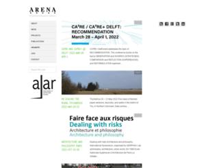 arena-architecture.eu screenshot