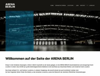 arena.berlin screenshot