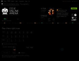 arena.myfide.net screenshot