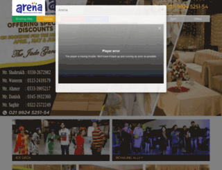 arena.net.pk screenshot
