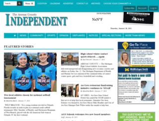 arenacindependent.com screenshot