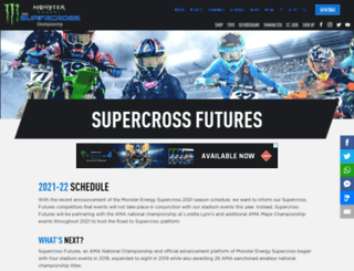 arenacross.com screenshot
