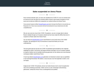arenafleurs.fr screenshot