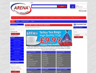 arenaoffice.co.uk screenshot