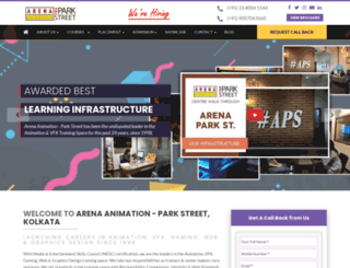 arenaparkstreet.com screenshot