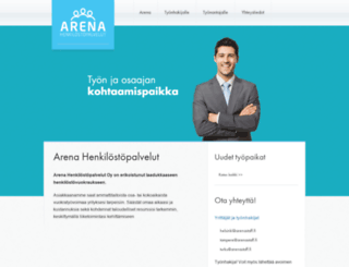 arenastaff.fi screenshot