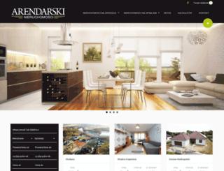 arendarskinieruchomosci.pl screenshot