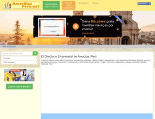 arequipa.amarillasperu.net screenshot