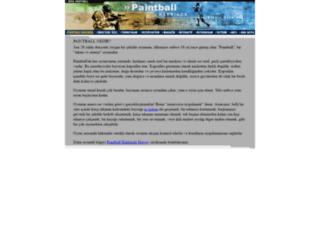 arespaintball.com screenshot