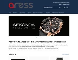 aress.co.uk screenshot