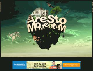 arestomomentum.conceptbb.com screenshot