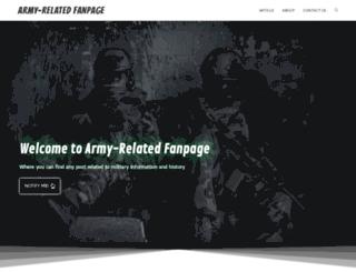 arfp.org screenshot