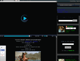argames786.blogspot.in screenshot