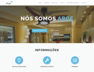 arge.com.br screenshot