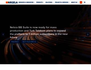argela.com screenshot