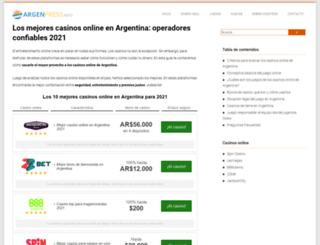 argenpress.info screenshot