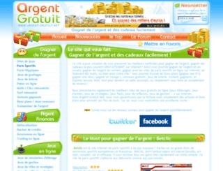 argent-gratuit.net screenshot