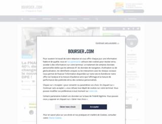 argent.boursier.com screenshot