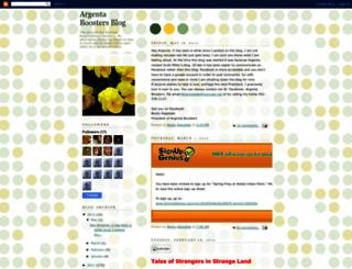 argentaboosters.blogspot.com screenshot