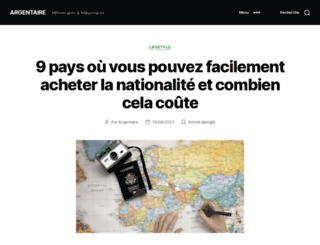 argentaire.blogspot.fr screenshot